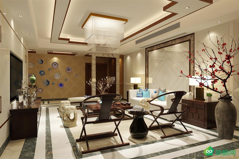 吳中豪景華庭-中式-四居室