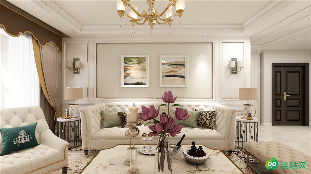 優雅歐式風127㎡三居室