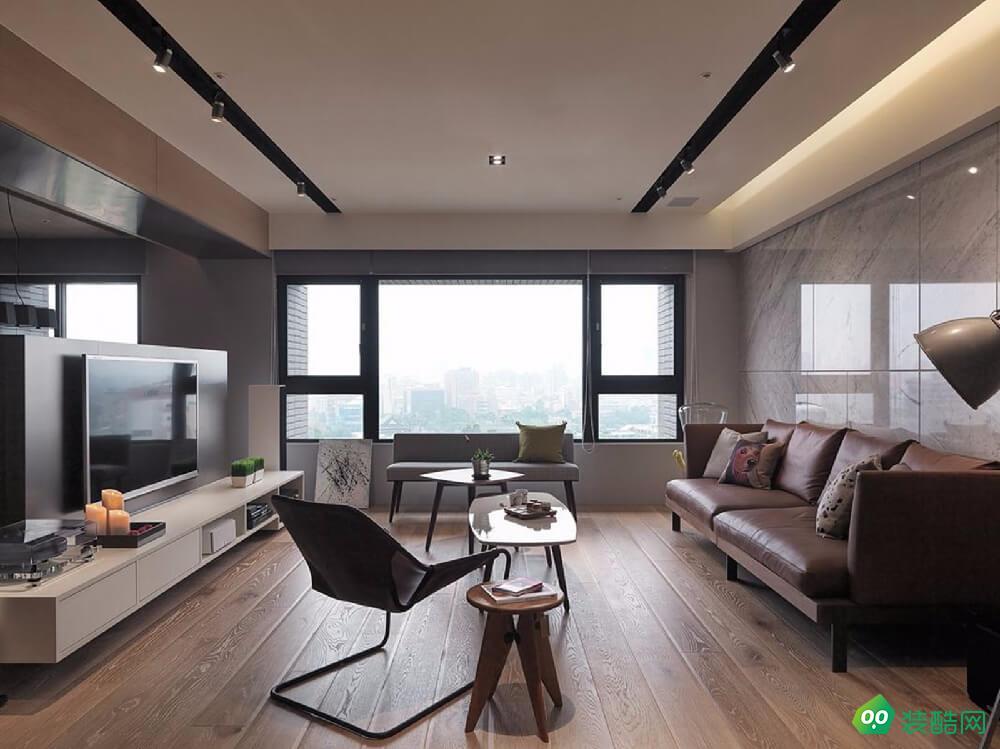 南寧110平米日式風格三室一廳裝修效果圖-志爾裝飾