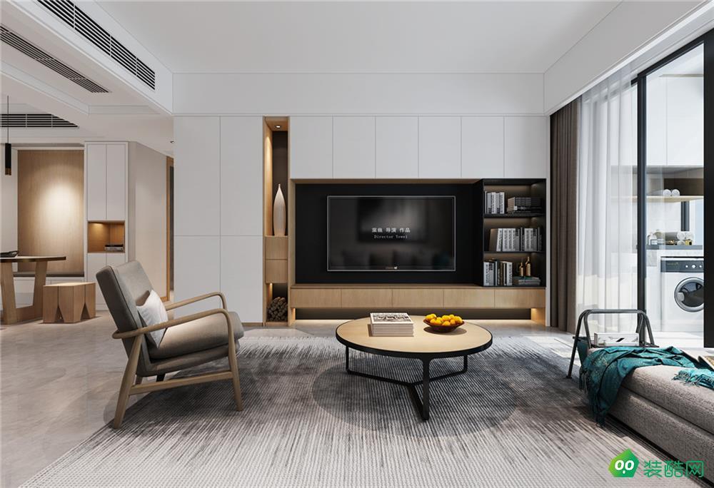 東湖山莊碧云閣、現代、118平米、三室兩廳