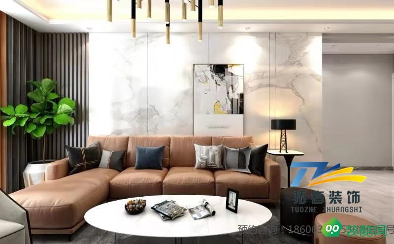 棗莊拓者裝飾|金鼎公寓現代輕奢風格裝修案例