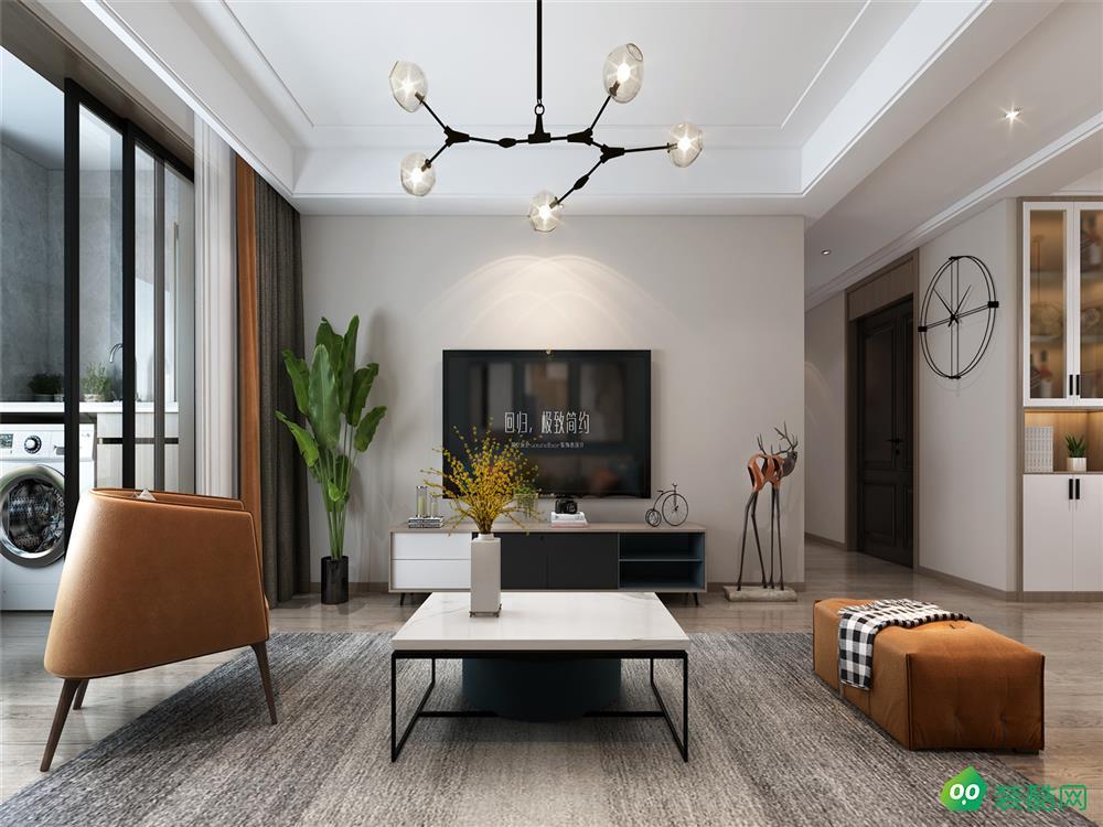 西山林語、現代、三室兩廳、158平米