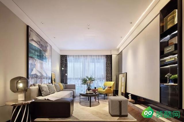 簡約空間現代風三居室109㎡
