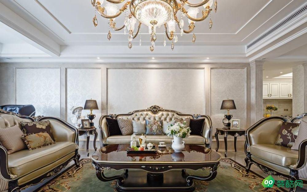 古典歐式風典雅浪漫 155㎡三居室