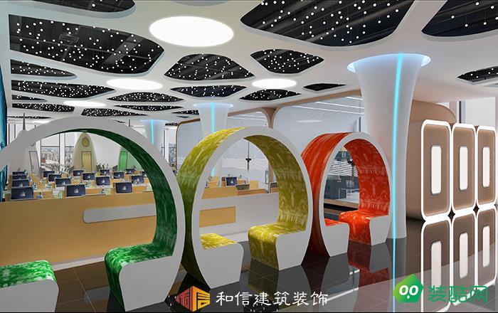 成都辦公室裝修設計公司-星密碼電子商務辦公室