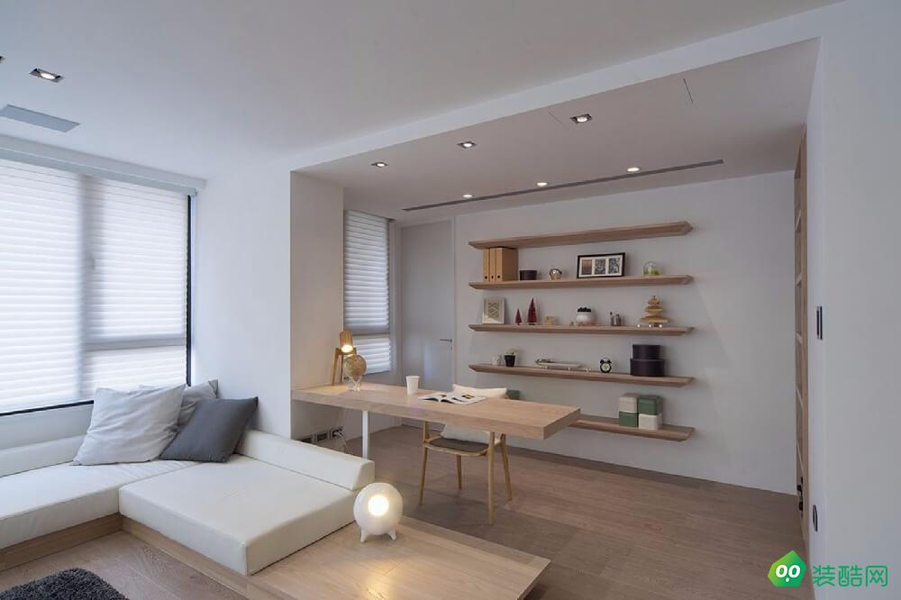 長壽110平米日式風格三室一廳裝修效果圖-星藝裝飾
