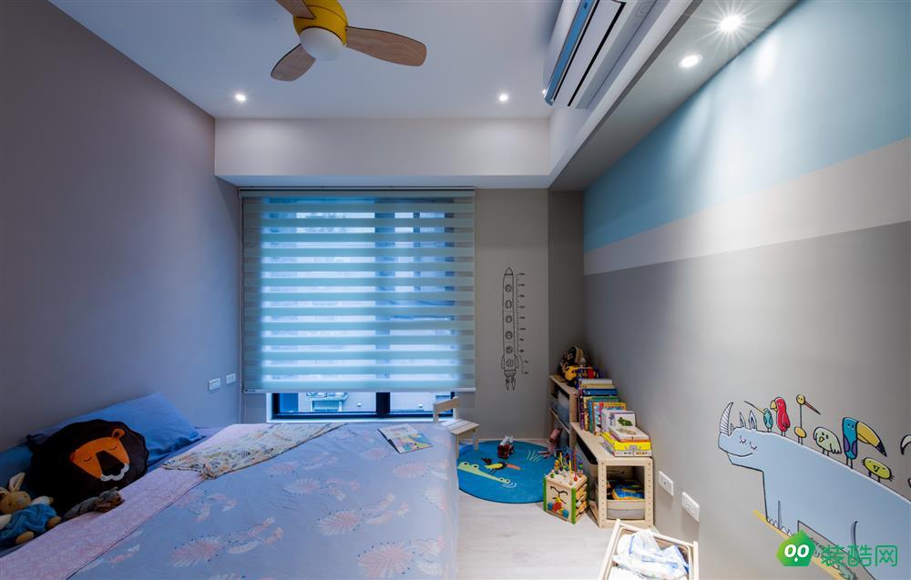 沈陽——110平米現代北歐三居室裝修效果圖