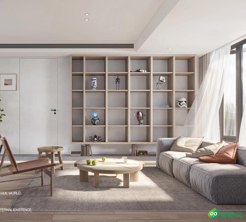 聯泰梧桐壹號日式風格三房簡潔家居設計