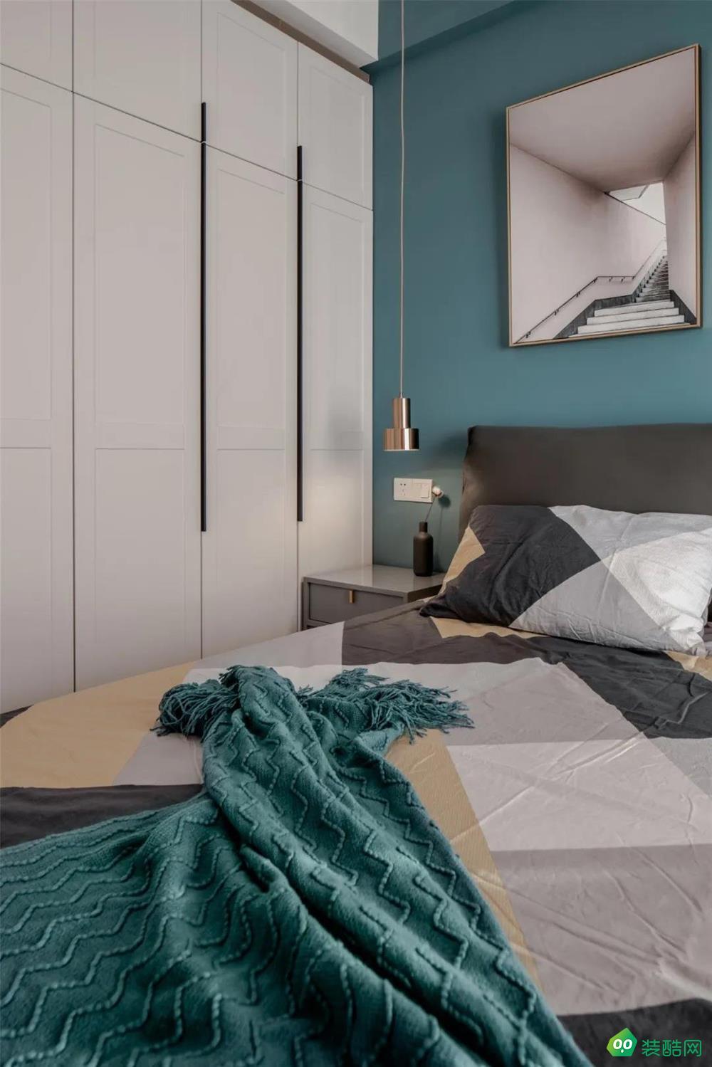 渝西印象-89平三居室現代簡約裝修
