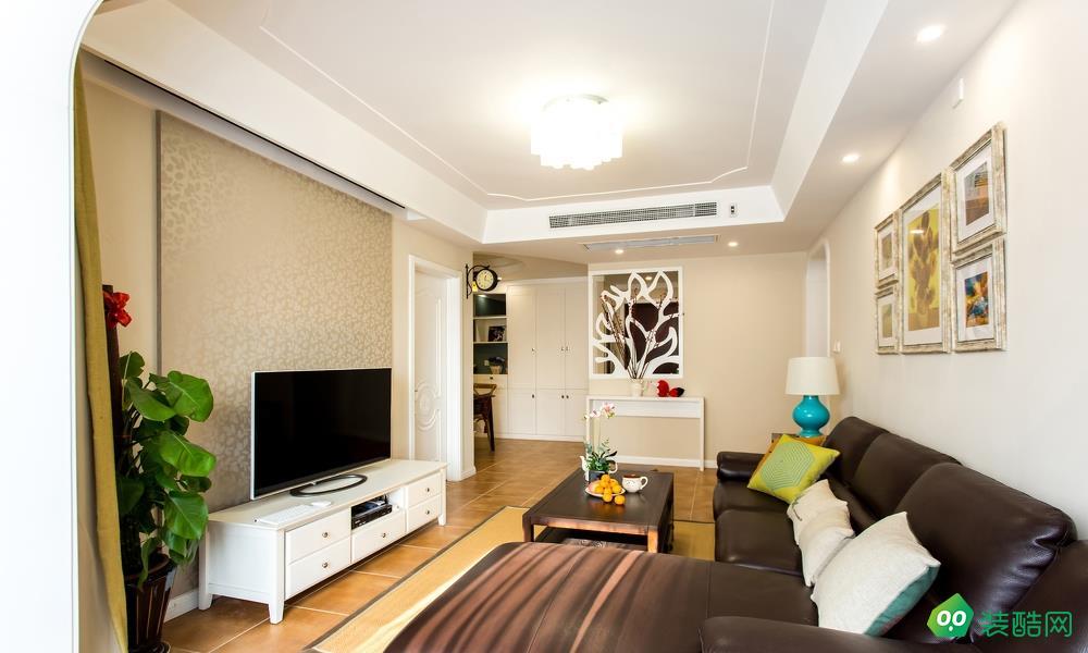 南京現代簡約三居室94平裝修案例