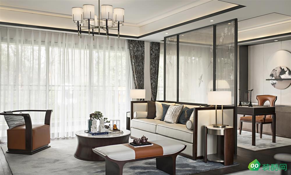 宜賓131平米現代簡約風格三室兩廳裝修案例圖片