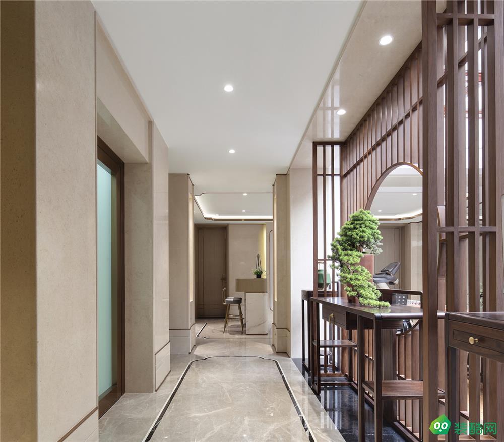 東莞——165新中式別墅書房裝修效果圖
