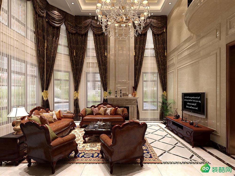 【蘇州東易日盛裝飾】豪門府邸800平歐式風格裝修效果圖