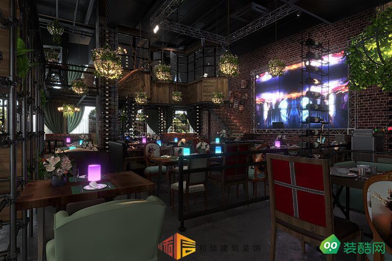 成都餐廳裝修設計公司-流蘇春天里主題音樂餐廳