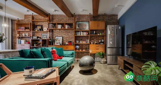 70平米兩室一廳客廳裝修效果圖