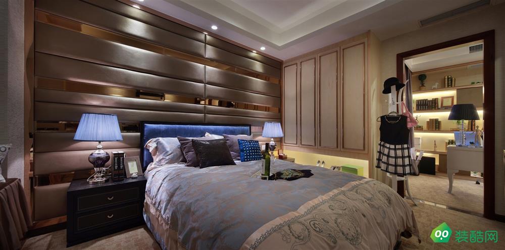 119平三居室簡約美式風裝修-中山緣森泰裝飾