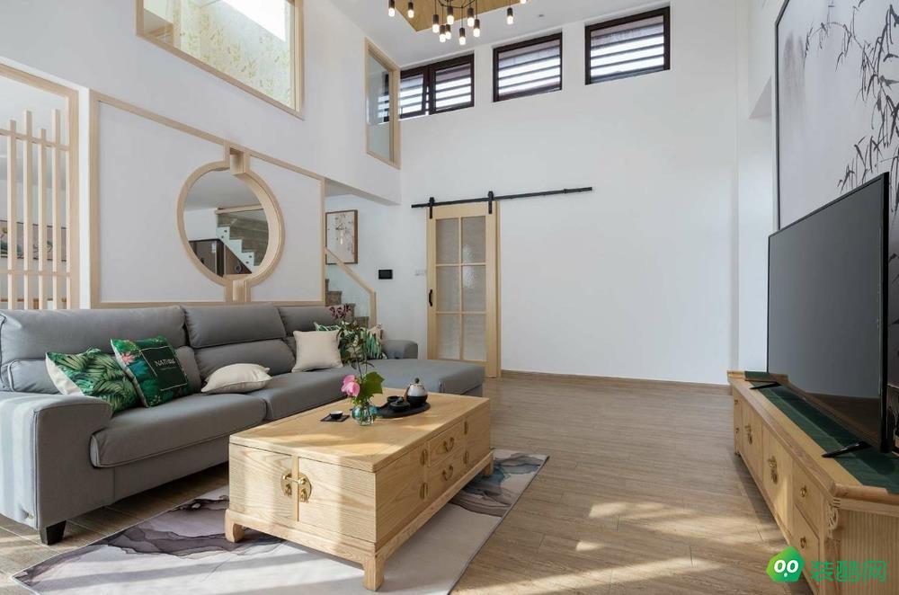 南寧109平米日式風格三室一廳裝修效果圖-創靚家居裝飾