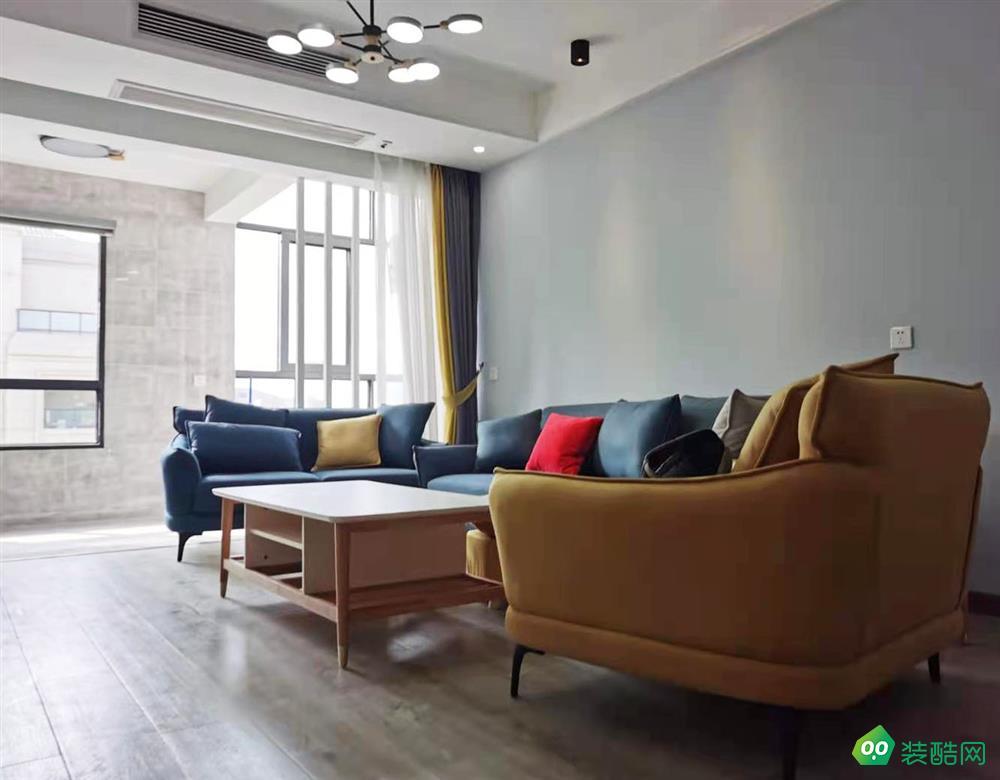 江津120平米现代风格跃层住宅装修实景图-家装e站