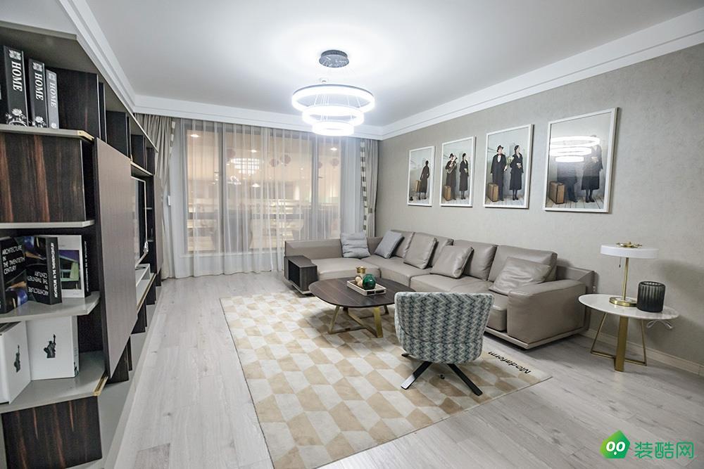 瀘州76平米現代風格兩居室裝修案例圖片