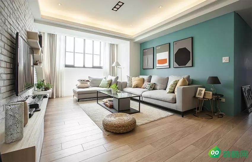 貴陽135平米簡約風格三室兩廳裝修效果圖-永建家裝飾