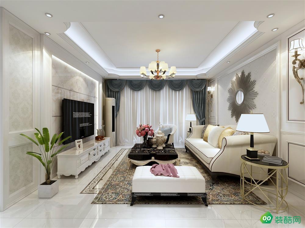 南湖佳苑128平米歐式風格