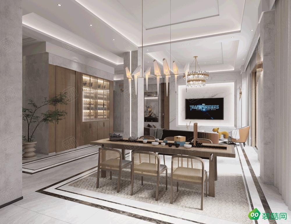 蘇州江南府邸600平米大別墅現代輕奢風格裝修