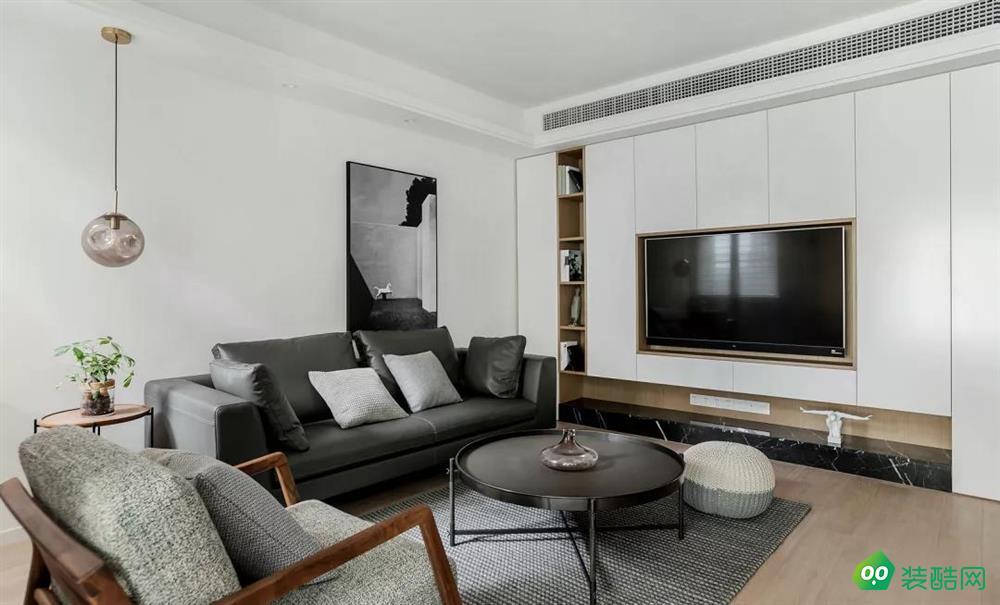 【紅杉樹裝飾】88㎡現代簡約風格,臥室折疊門靈動雅致!