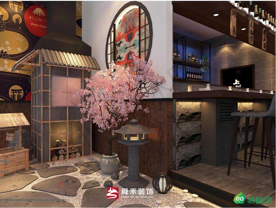 济南舜禾公司日料餐厅装修设计