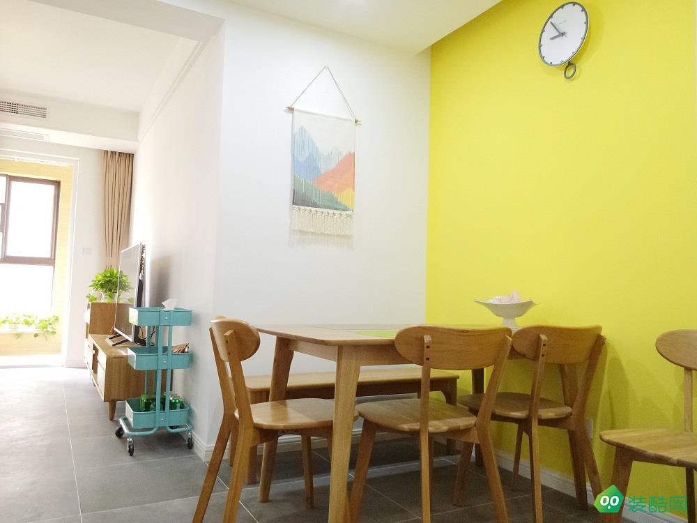 蘇州南安花園現代三居室107平米13萬裝修案例