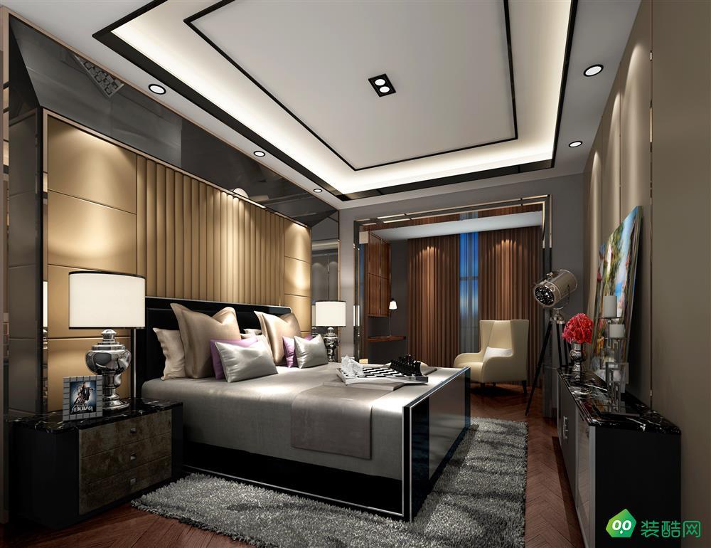 宜賓三居室裝修-110平米港式風格裝修