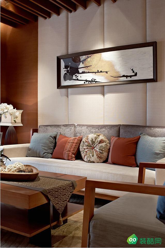 桂林顛鋒視界裝飾-80平東南亞裝修風格
