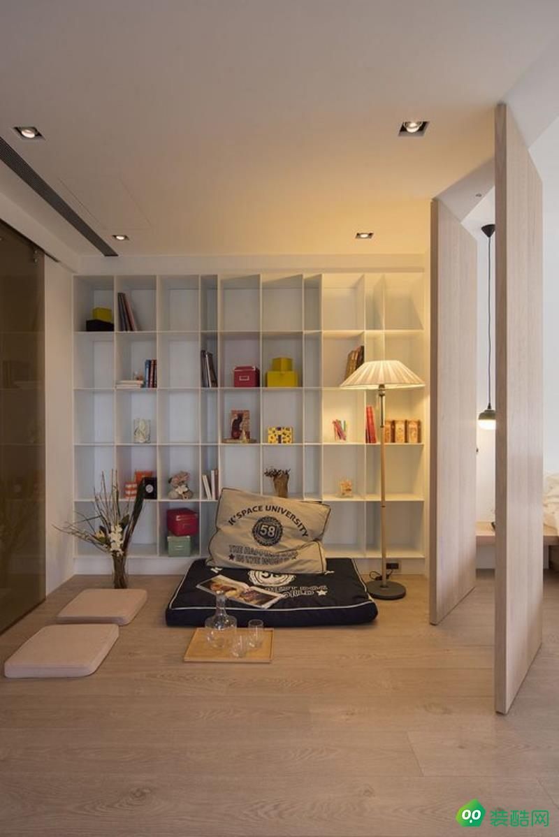 現代簡約三居室