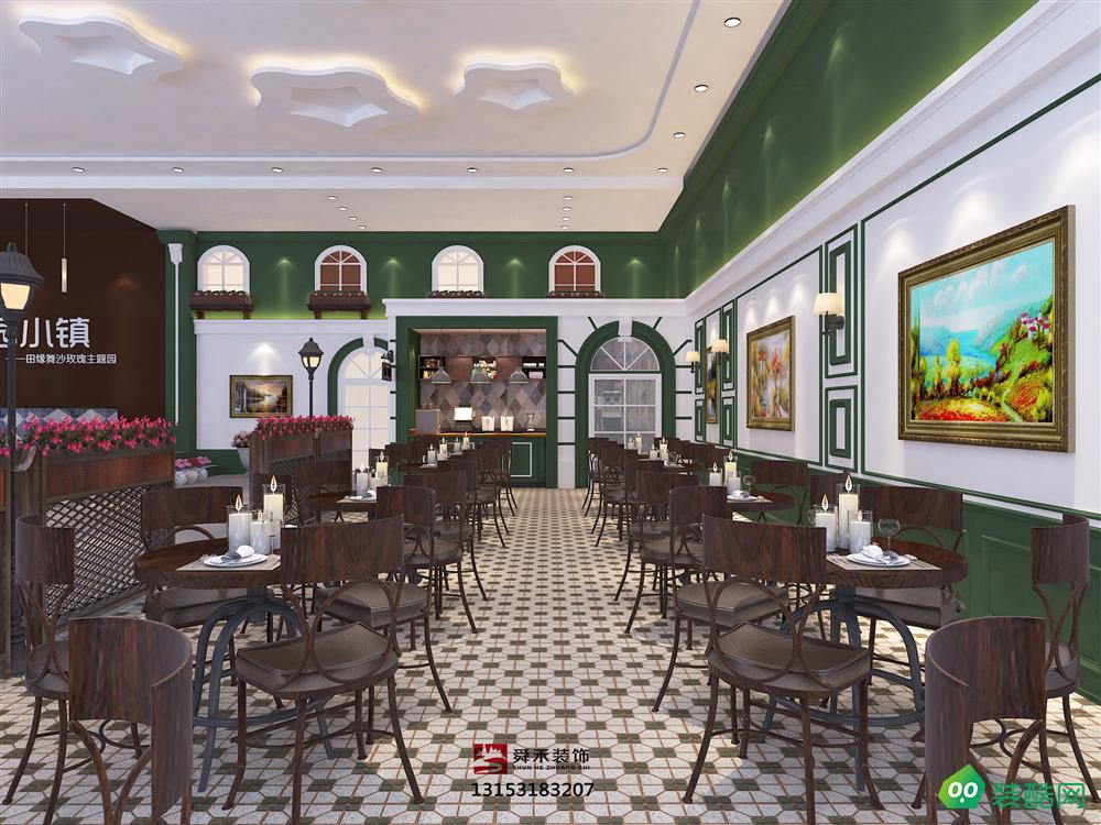 打造你所向往的欧式餐饮餐厅装修设计