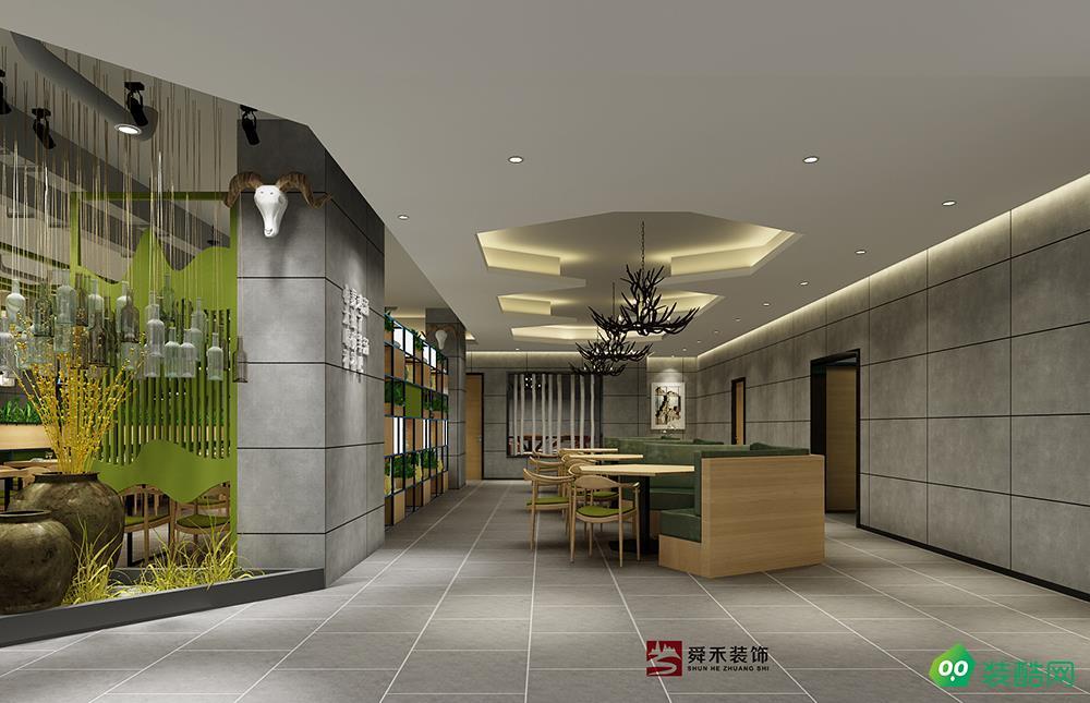淄博品牌餐厅时尚餐厅装修设计