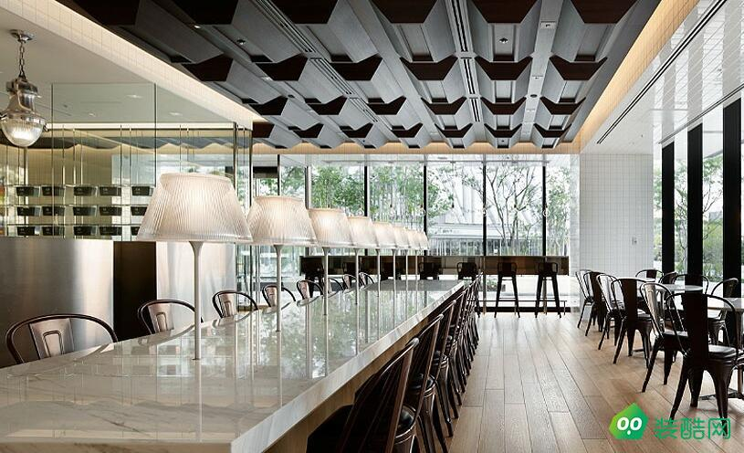 东莞嵘铖章鱼直播间章鱼直播app官网-简约装修咖啡厅装修设计案例
