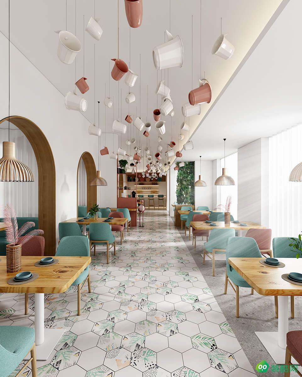 西安凤舞九天餐厅装修设计效果图