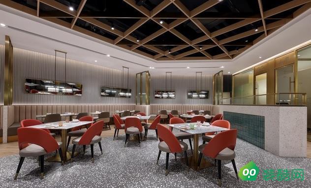 南昌390平米茶餐厅装修效果图
