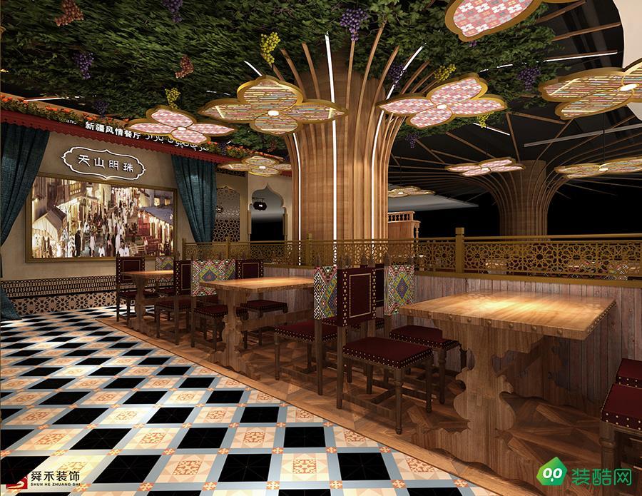 青岛餐饮民族风情特色餐厅装修设计