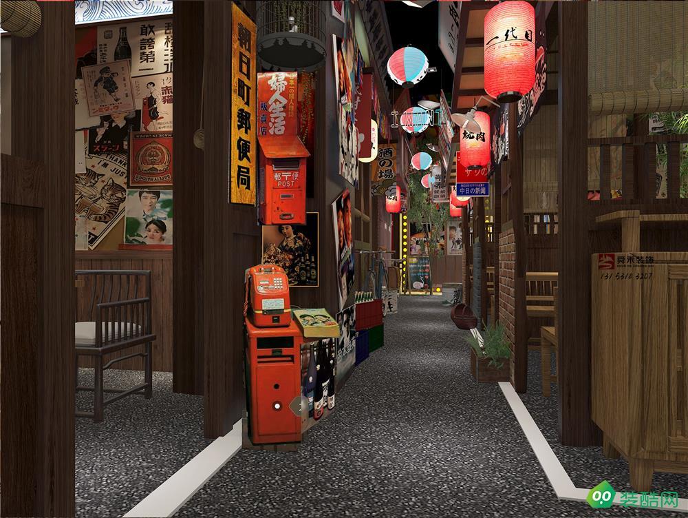 青岛餐饮茶餐厅时尚餐厅装修设计