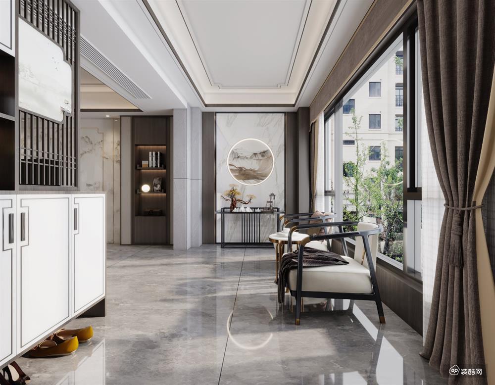 南山旧房改造-新中式风格