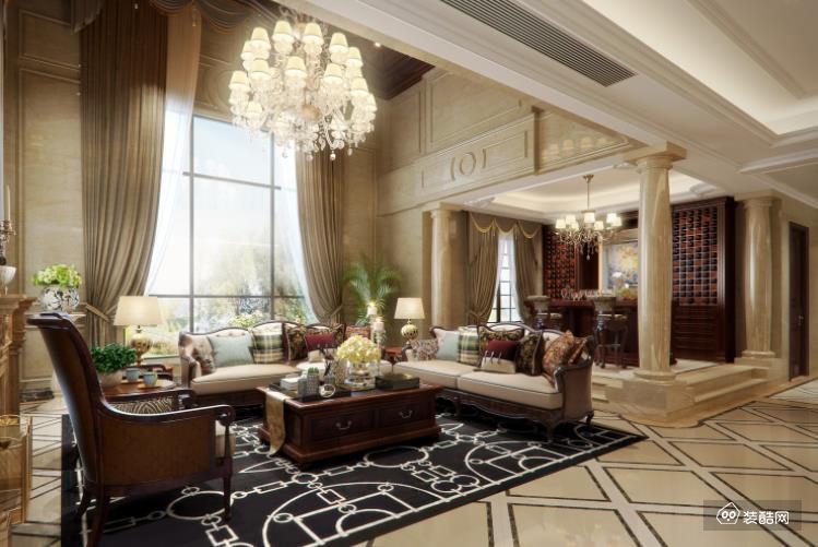 桂林星藝裝飾-380平獨棟歐式風格案例