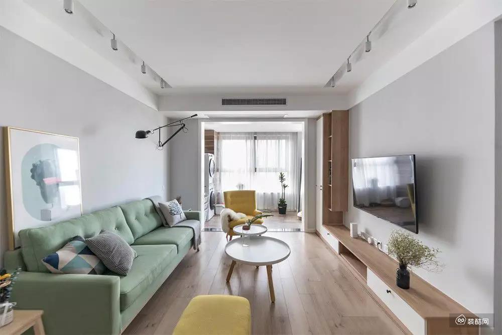 92平北歐三居室,慵懶隨性又高顏值,腔調十足!