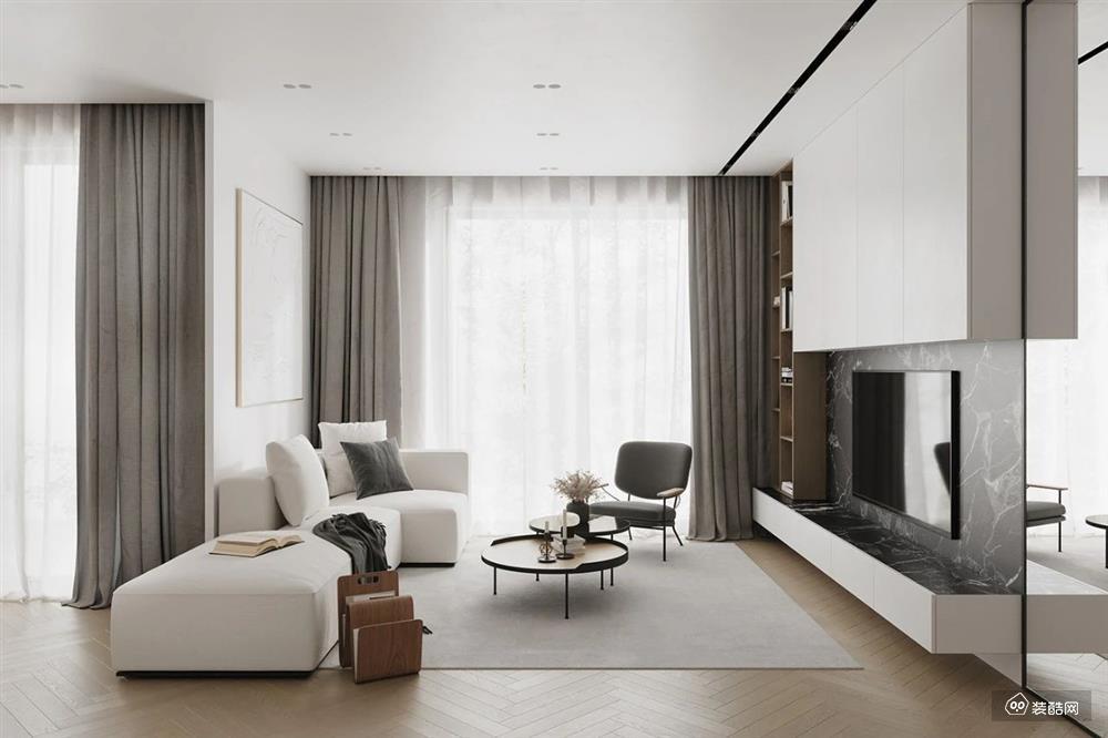 一居室的公寓,这样设计 1㎡ 都不浪费还显格调