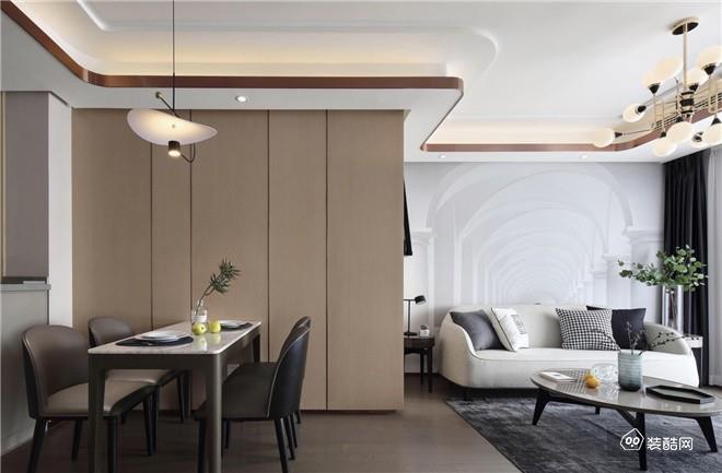 南充業之峰裝飾—110平米新中式裝修風格案例