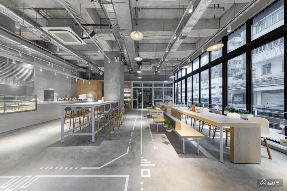 广州中海唯邦章鱼直播间章鱼直播app官网-880㎡NUIY西餐厅装修效果图