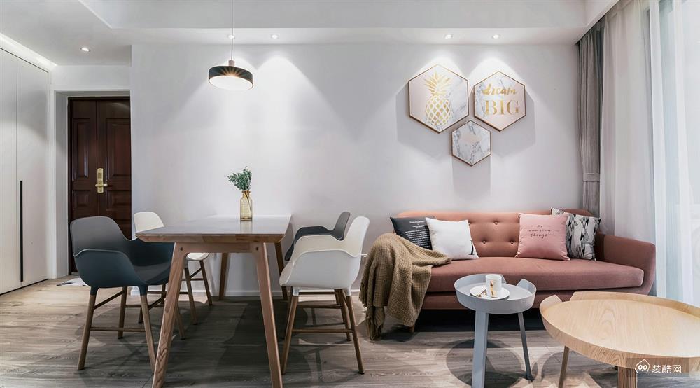 貴陽108平現代三室一廳裝修效果圖——貴陽波濤裝飾