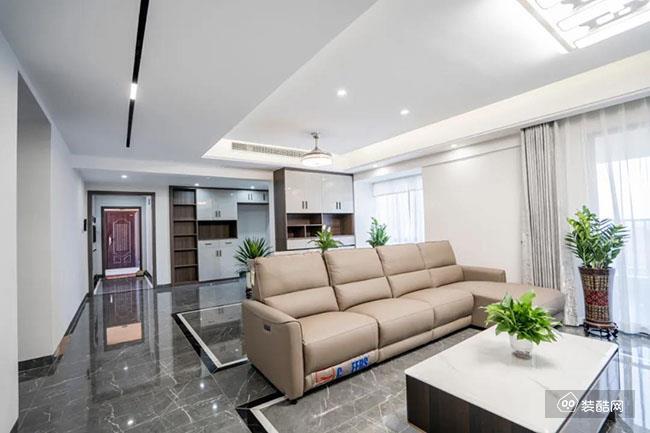惠州華美樂裝飾——130平米四居現代裝修效果圖