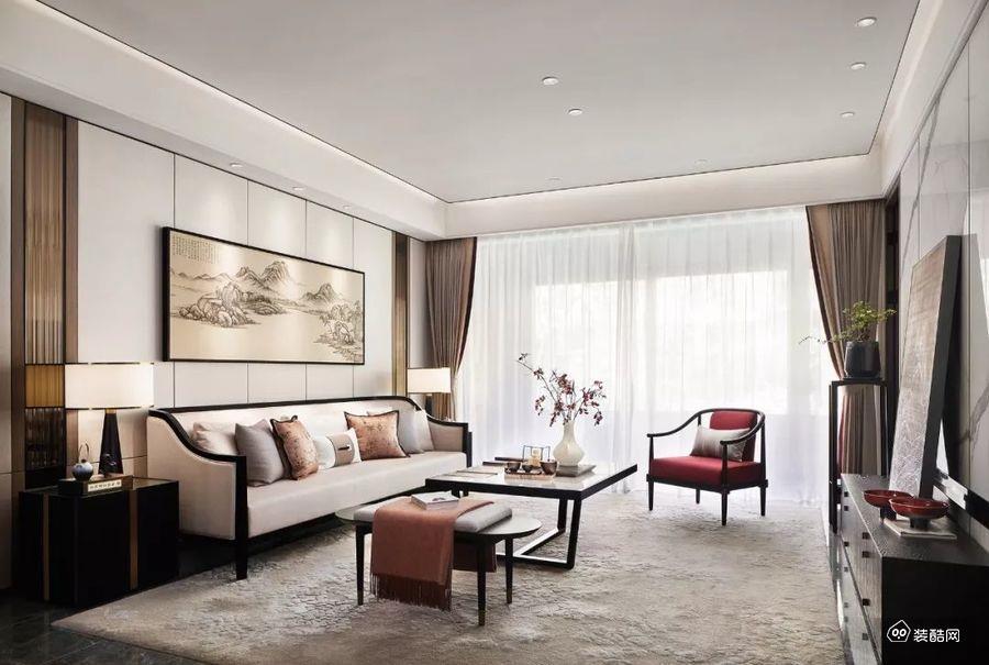 銀川安悅宅裝飾-140平現代四室裝修效果圖