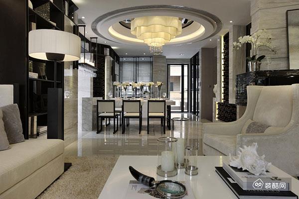 96平欧式风格两居室