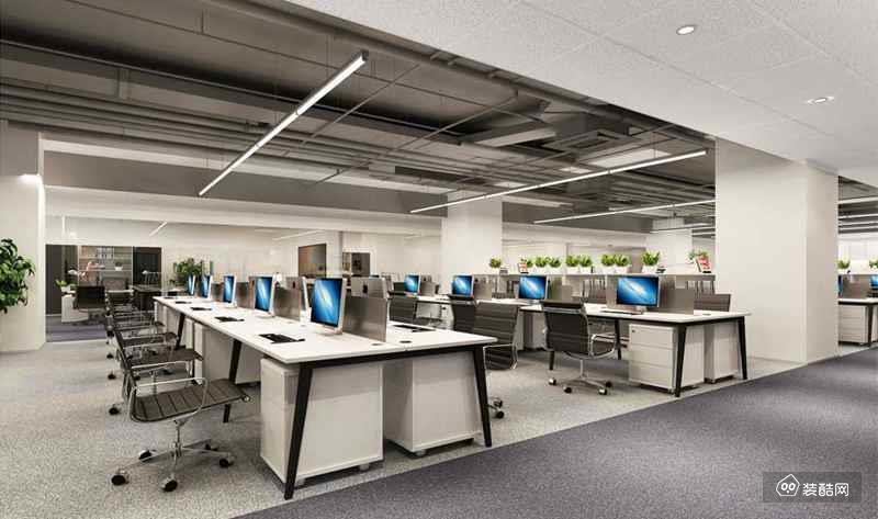 沙井科技园办公室设计 沙井隔墙吊顶装修公司
